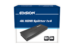 hdmi splitter 4 εξοδοι